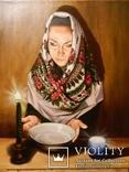 """""""Взгляд в будущее"""", масло. холст (лен) на подрамнике 70*60см 2012г, автор Янишевская Ю.В."""