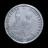 Талер 1761 Сигизмудн III, Архиепископство Зальцбург photo 1