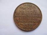 Чехословакия    медаль  Т. Масарык  1935  год, фото №5