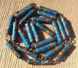 Бусы серебро, перегородчатая эмаль (клуазоне)., фото №10