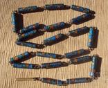 Бусы серебро, перегородчатая эмаль (клуазоне)., фото №11