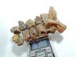 Янтарь 81.73 грамм прозрачный золото желтый под поделки кулоны бусы браслеты №36, фото №2