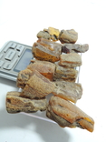 Янтарь 81.73 грамм прозрачный золото желтый под поделки кулоны бусы браслеты №36, фото №4