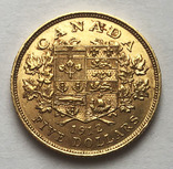 5 долларов 1912 года. Канада.