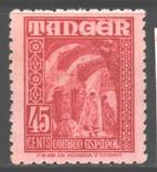 Исп. Танжер. 1948. Нац. мотивы, 45 с. **.