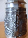Коллекционный Пивной бокал кружка. Клеймо, фото №9