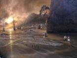 """""""Берег южного моря"""" холст масло 60х100 Борисенко photo 7"""