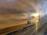 """""""Берег южного моря"""" холст масло 60х100 Борисенко photo 8"""