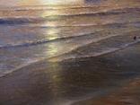 """""""Берег южного моря"""" холст масло 60х100 Борисенко photo 12"""