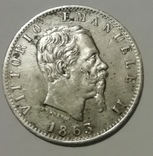 20 сентесимо 1863 год photo 2