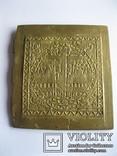 Икона БМ - часть складня - 125х135мм, фото №3