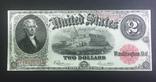 2 доллара США 1917 Large size