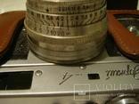 Фотоаппарат Зоркий-4 с объективом Юпитер-8, в кожанном футляре и коробке фото 8