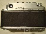 Фотоаппарат Зоркий-4 с объективом Юпитер-8, в кожанном футляре и коробке фото 9