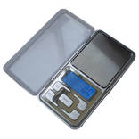 Карманные электронные весы до 500 гр (шаг 0,1гр), фото №2
