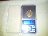 Карманные электронные весы до 500 гр (шаг 0,1гр), фото №3