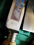 Нож набор барбекю стейк рог оленя Solingen Германия топор photo 4