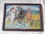 Картина три богатыря (копия), фото №2