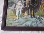 Картина три богатыря (копия), фото №6