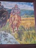 Картина три богатыря (копия), фото №8