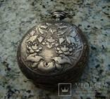 Павел Бурэ карманные часы серебро 84 photo 2