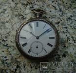 Павел Бурэ карманные часы серебро 84 photo 3