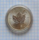 5 доларів 2015р. Канада. Ag 9999*. P= 1oz., фото №4