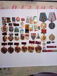 Значки СССР,и разное плюс 4 медали