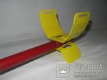 Металлический подлокотник (Garret,X-terra и др.) желтый.Лот номер 8