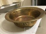 Миска латунная 2,2 кг, фото №2