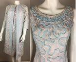 Винтаж 1960 год.США.костюм пальто+платье., фото №2
