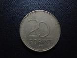 20 форинтов 1994 Венгрия    (О.5.19)~, фото №2