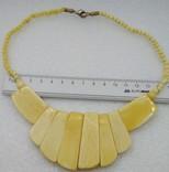 Ожерелье бусы кость, фото №5
