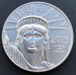 100 $ 2019 год США платина 31,1 грамм 999,5' photo 3