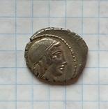 Денарий Римской республики Г.Марций Цензорин photo 4