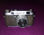 Фэд 2 фотоаппарат времен СССР