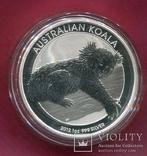 Австралия 1 доллар 2012 Коала пруф, фото №2