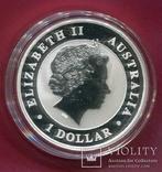 Австралия 1 доллар 2012 Коала пруф, фото №3