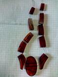 Остатки янтарного ожерелья., фото №7