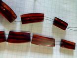 Остатки янтарного ожерелья., фото №9