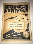 1929 Радість Поета Козолупенка Весела Українська Книжка