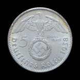 5 Марок 1938 А Свастика, Третий Рейх