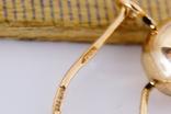 Золотые серьги 583 пробы photo 2