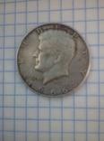 Монета 1/2 доллара 1966 США