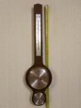 Метеостанция Германия. Большая H-61см. барометр, гигрометр, термометр.