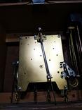 Настенные маятниковые часы AMS с получасовым боем. Механизм AMS W 150A. Германия., фото №7