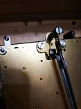 Настенные маятниковые часы AMS с получасовым боем. Механизм AMS W 150A. Германия., фото №9