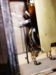 Настенные маятниковые часы AMS с получасовым боем. Механизм AMS W 150A. Германия., фото №10