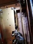 Настенные маятниковые часы AMS с получасовым боем. Механизм AMS W 150A. Германия., фото №11