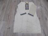 Традиційна чоловіча полотняна сорочка 1920х рр. Борщівський р-н, фото №3